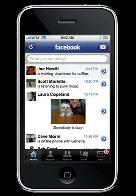 Facebook Mobile App – View Account And Upload Photos From Mobile