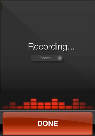 Dragon Dictation- Voice Recognition App