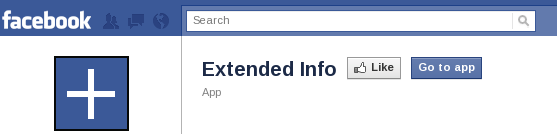 Extended Info – Info on your Facebook Page