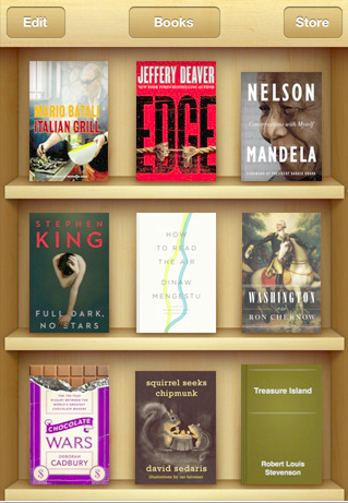 Apple iBooks – iphone e-book Reader