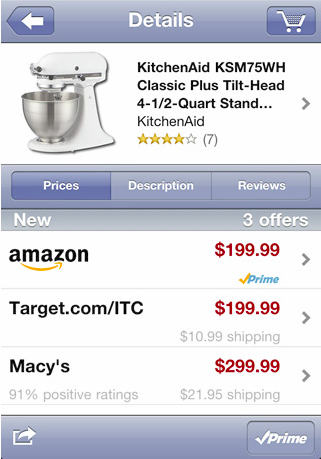 Price Check By Amazon – Price Analysis On iPhone
