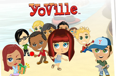 YoVille – Virtual Worlds On Facebook