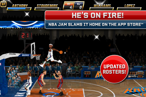 NBA Jam by EA Sports- Multifarious App