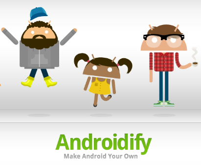 Androidify- Fun with Android App