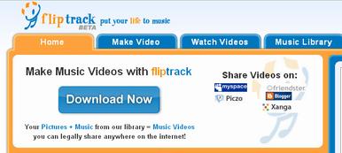 Fliptrack -Dedicated Music App on FB