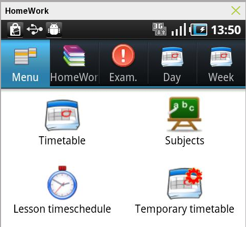 Home work – Android App for Students