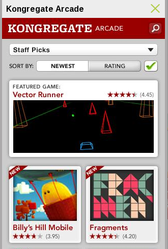 Kongregate Arcade – Android Free Games
