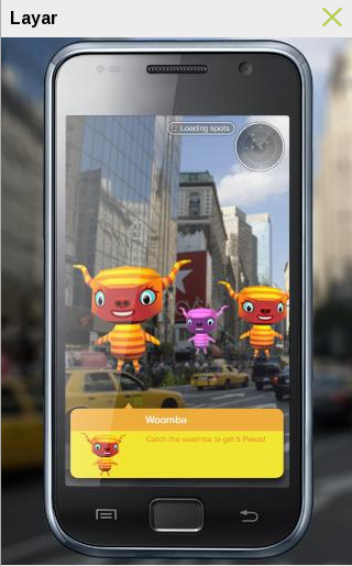 Layar – Augmented Reality in Android