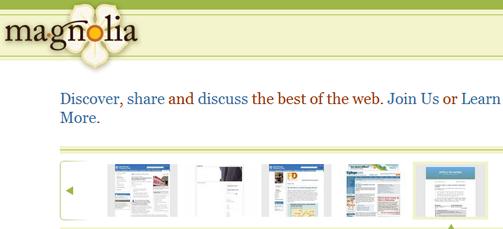 Ma.gnolia – Facebook Book Marking App