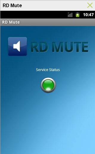 RD Mute Android App Review