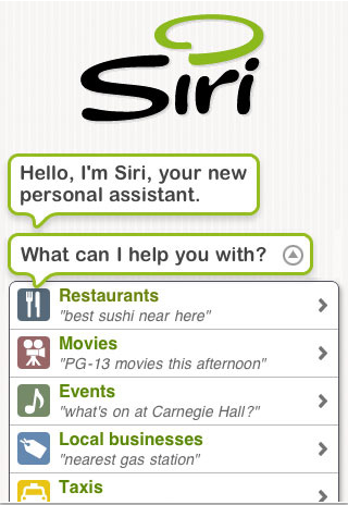 Siri Assistant – Things Done on iphone
