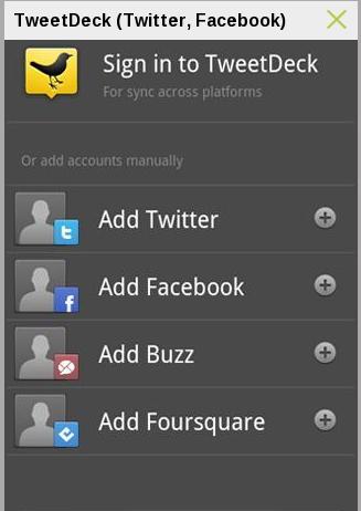TweetDeck – Android Social Browser