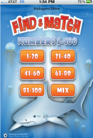 Find and Match Numbers – Kids Learning