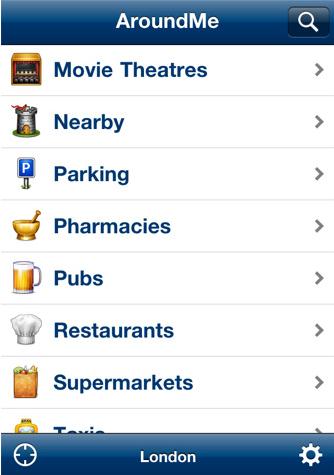 Aroundme iphone App Review