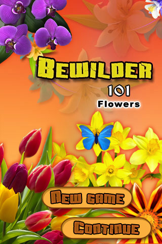 Bewilder-III Flowers – iphone Puzzle Game