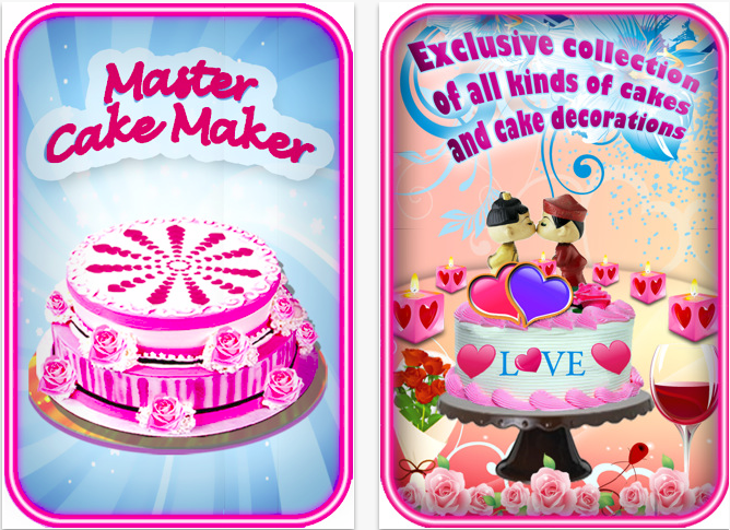 Master Cake Maker- Creative iphone App