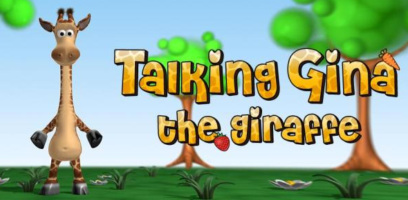 Talking Gina the Giraffe – For Kids