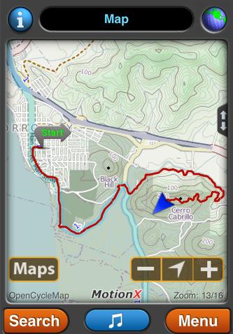 Motion X GPS lite – Apt Tracker