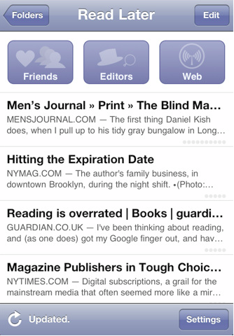 Instapaper Free – For Offline Reading