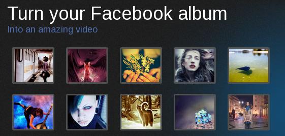 Picovico – Album to Video Facebook App