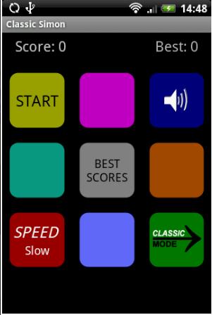 Classic simon- Game for Memory Power