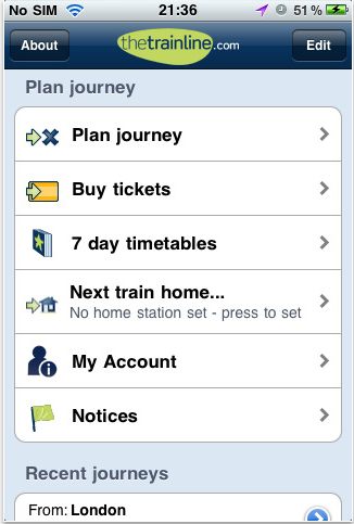 Thetrainline – Train Ticke Booking