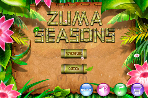 Zuma Seasons – Awesome iphone Game