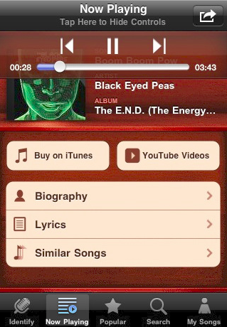 Music ID with lyrics iPhone App Review