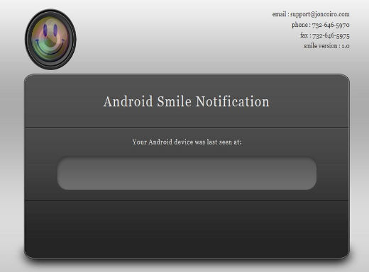 Smile! – Android Security App