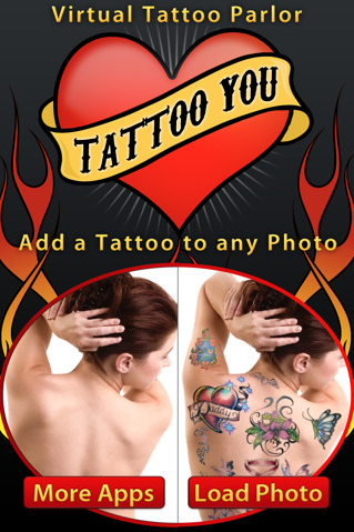 Tattoo You – iPhone Tattoo App for Grooming