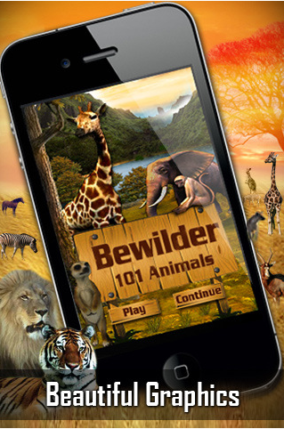 Bewilder Animals – iPhone Puzzle Game with Jungle Animals