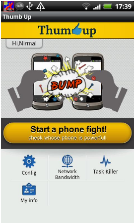 Thumb Up Phone Fight – App to Compare Android Phones