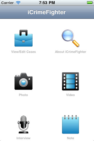 iCrimeFighter – iOS App Helps in Crime Investigation
