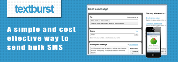Textburst – Simple SMS Marketing Tool from Mediaburst