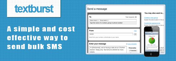 Textburst – Simple SMS Marketing Tool from Mediaburst