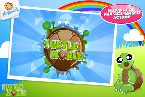 Turtle World – Physics Based Action Kids iPhone Game