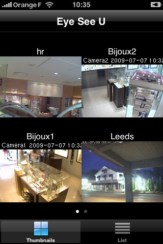 EyeSeeU – iPhone Video Camera App from Ecaste