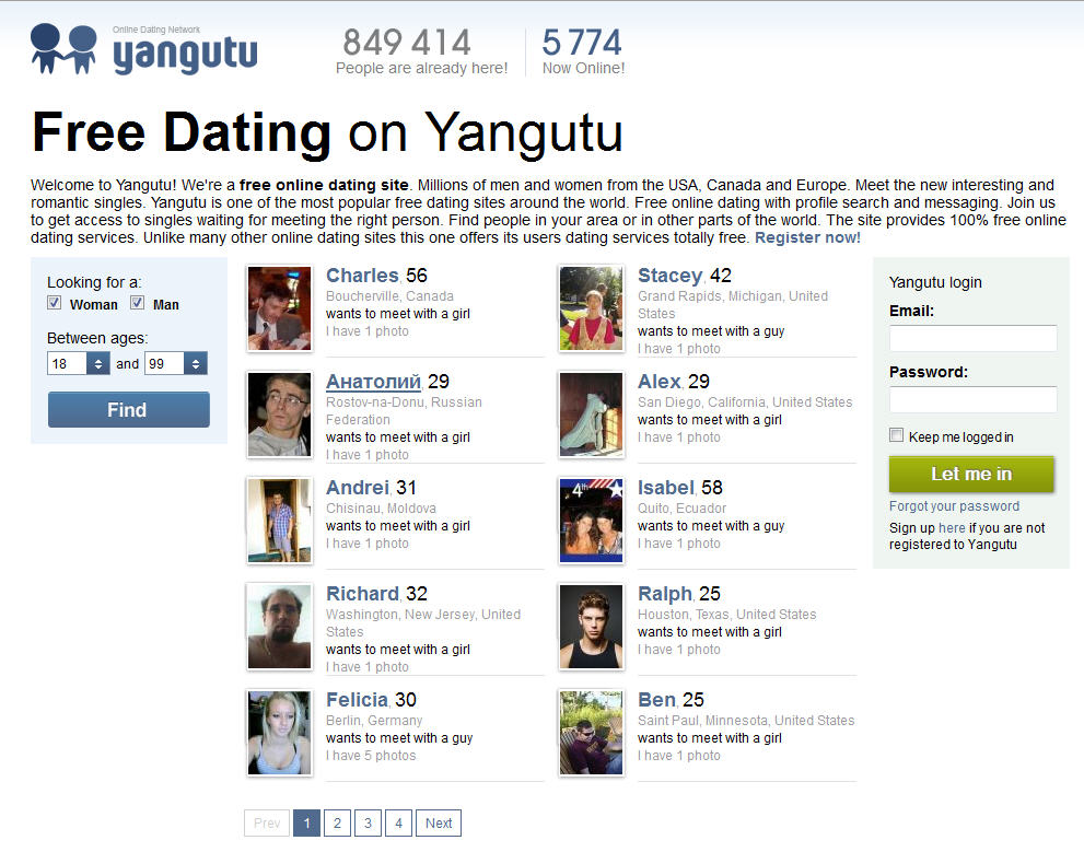 Yangutu Facebook Dating App – Find your Soulmate