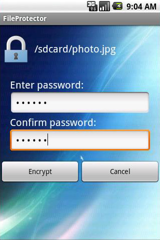Android File Protector