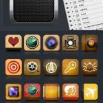 Mobile App Icon Designer Kit – 50 Icon Template Pack