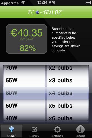 Eco-Bulbz | iOS App to Reduce Energy Consumption