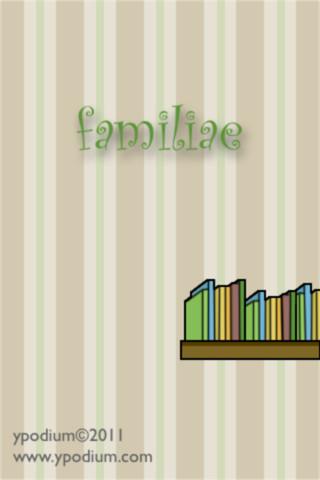 Familiae – Edutainment iOS App for Kids