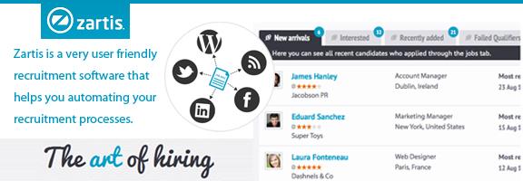 Zartis.com | E-Recruitment Software for Your Business