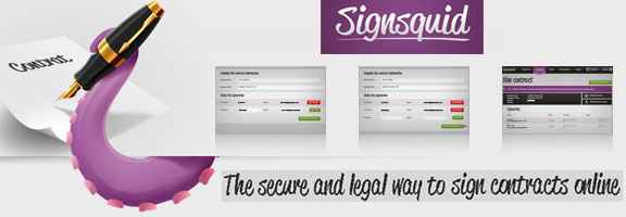 Signsquid.com – Safe Way to Sign Your Online Contracts