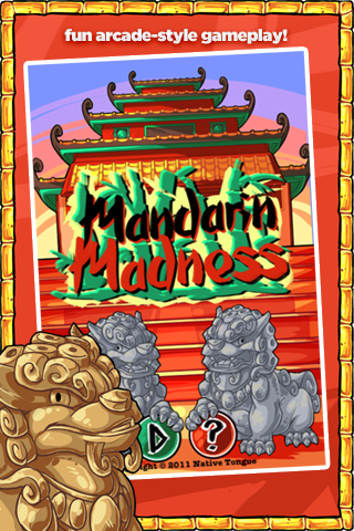 Mandarin Madness – App to Learn Sensible Mandarin