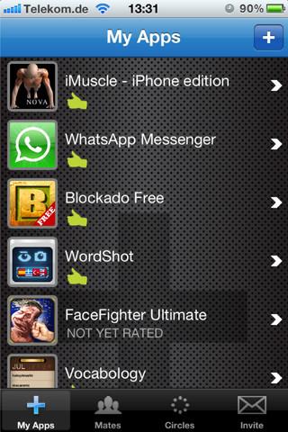 Mates360 for Apps –  Integrating Friendship