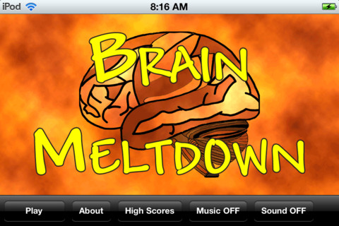 Brain Meltdown – iOS Quiz Game to Melt Brain