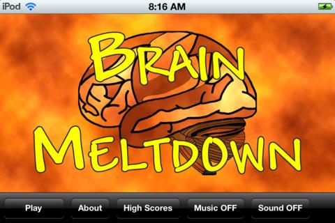 Brain Meltdown – iOS Quiz Game to Melt Brain