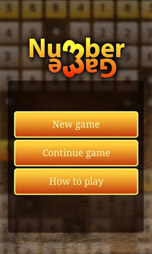 Number Game – For Logic Game Lovers !