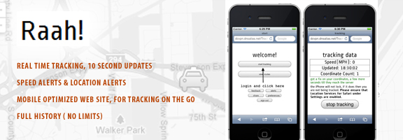 Raah – Real Time Vehicle Tracking App